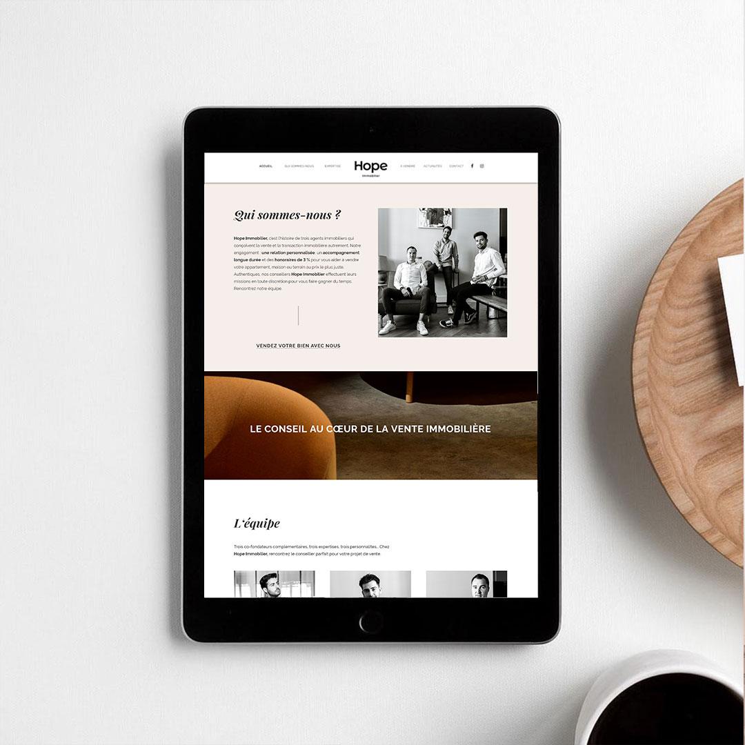 Webdesign Creation Site Internet