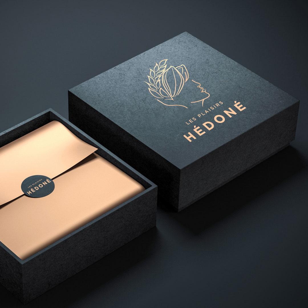 Les Plaisirs Hédoné - Logo branding